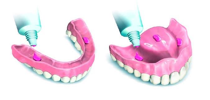 Crema adhesiva para prótesis dentales