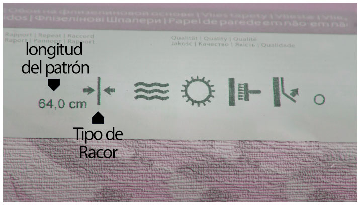 etiqueta de papel autoadhesivo