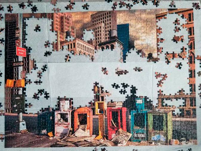 Como pegar un puzzle