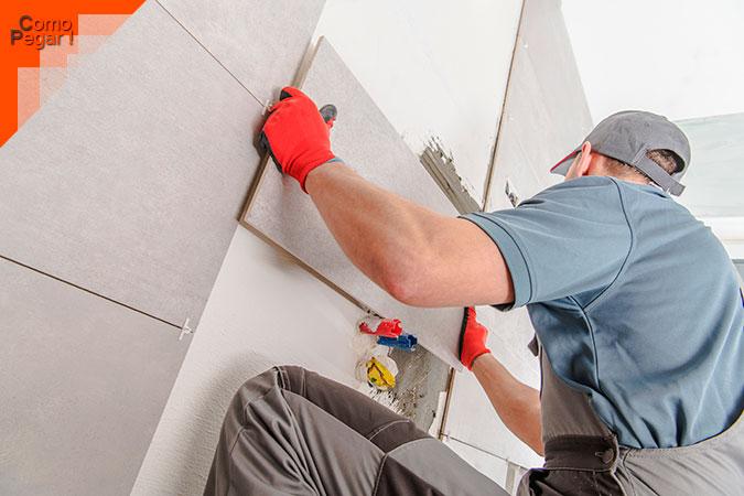 Como pegar azulejos en la pared